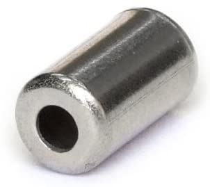 CASQUILLO DE CABLE 5MM. CLARCKS. CABLE FERRULE CLK 5mm BRAKE SIL METAL BT