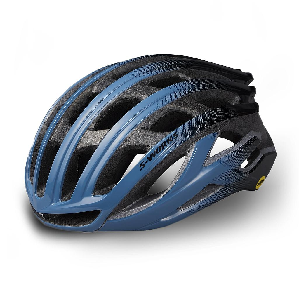 CASCO SPZ S-WORKS PREVAIL II ANGI MIPS CE STRMGRY/BLK