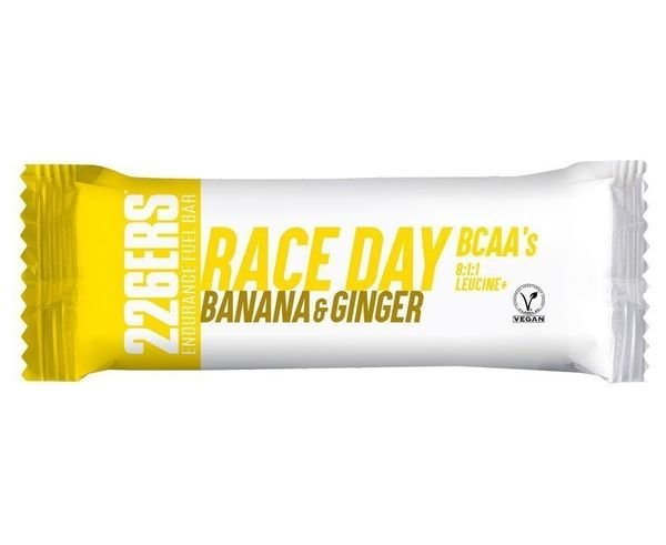BARRAS PARA CARRERAS 226ERS RACE DAY BAR BCAAS 40GR BANANA & GINGER